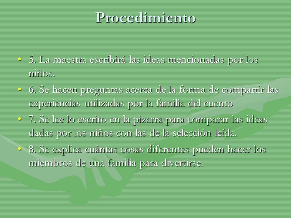 Procedimiento C.AplicaciónC.