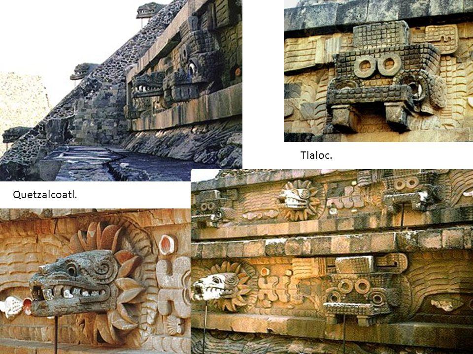 Quetzalcoatl. Tlaloc.