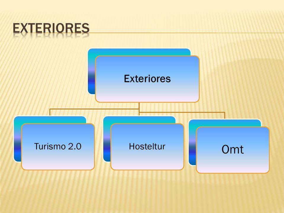 Exteriores Turismo 2.0Hosteltur Omt