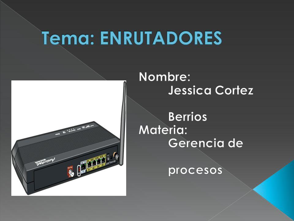 Un enrutador (router en ingles), es un dispositivo de hardware para interconexión de red de ordenadores que opera en la capa tres (nivel de red).