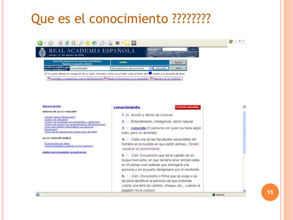 Que es el conocimiento ???????? 11