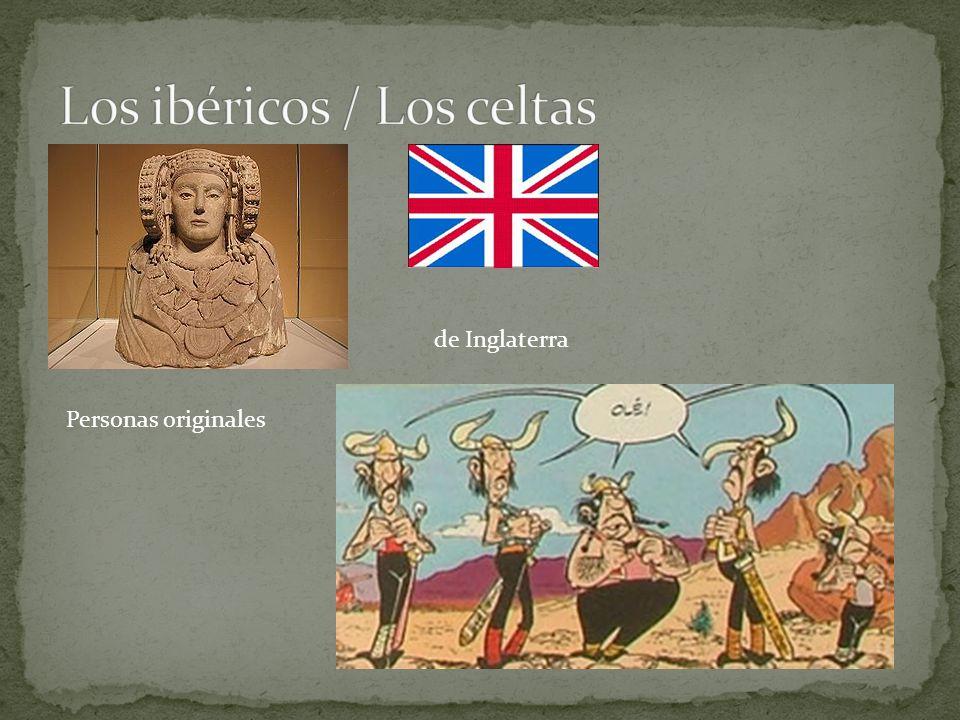 Personas originales de Inglaterra