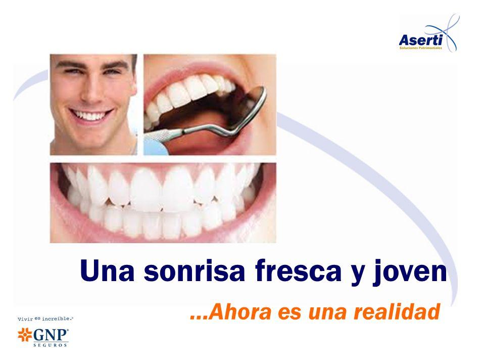 ...cada año cerca de 55,000 mujeres, hombres y jóvenes, visitan a un Odontólogo para consultar los precios de los tratamientos más comunes y sólo el 4.5% se los pueden realizar debido a los costos tan elevados; ya que las pólizas de seguros no las cubren.