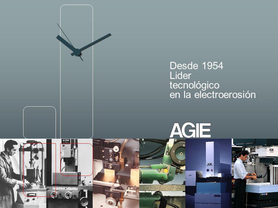 AGIE DESDE 1954 08.06 s 22 2002 Sistema de electroerosión por hilo AGIECUT VERTEX con doble sistema hilo e interfaz de usuario AGIEVISION, para mecanisados fines y de alta precisión.