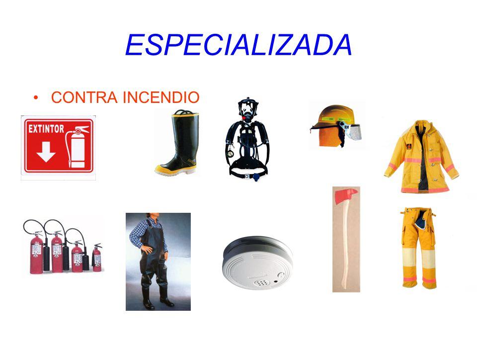 ESPECIALIZADA CONTRA INCENDIO
