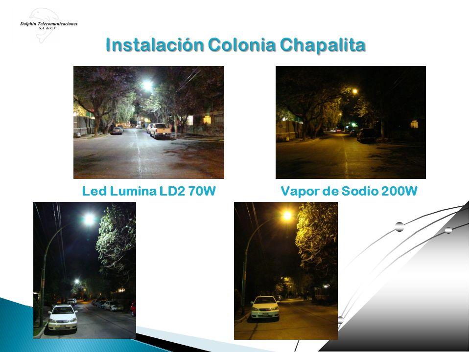 Led Lumina LD2 70WVapor de Sodio 200W