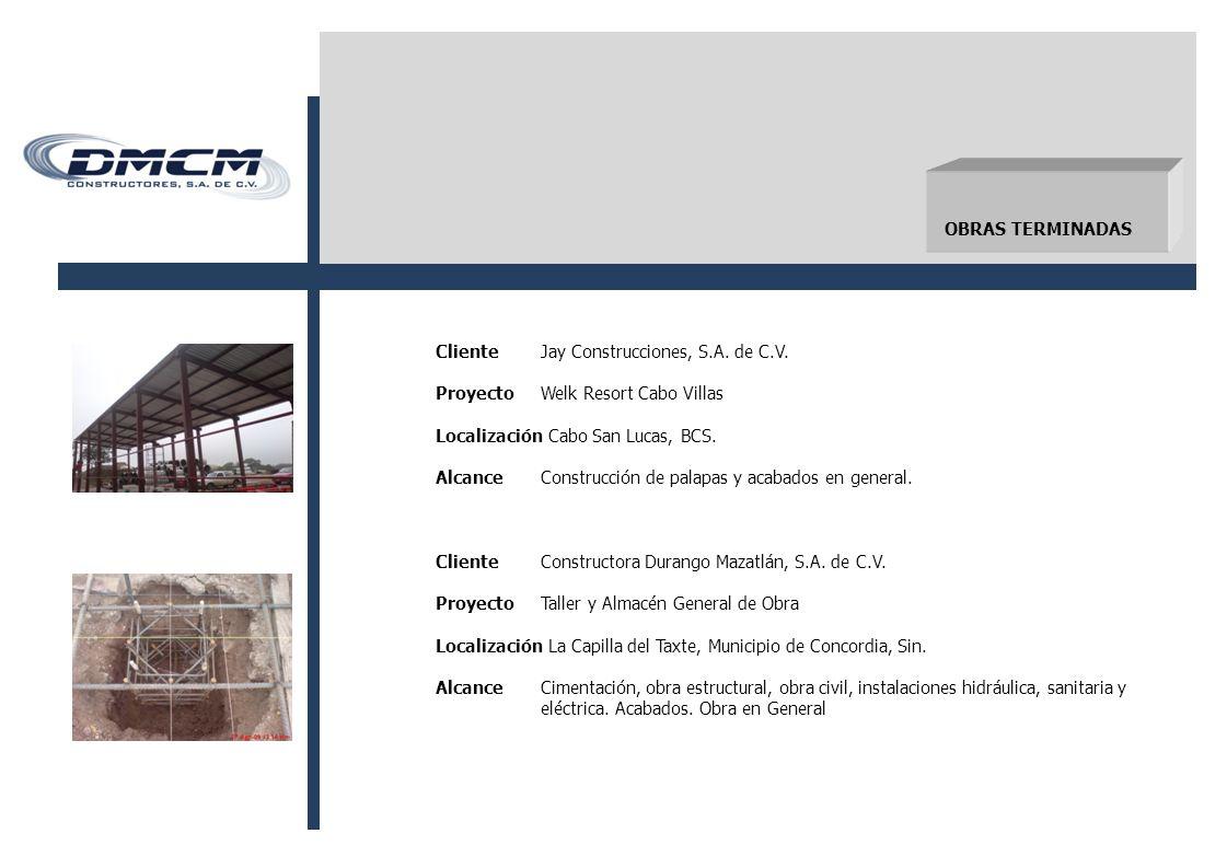 ClienteJay Construcciones, S.A.de C.V.