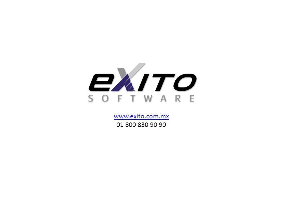 www.exito.com.mx 01 800 830 90 90