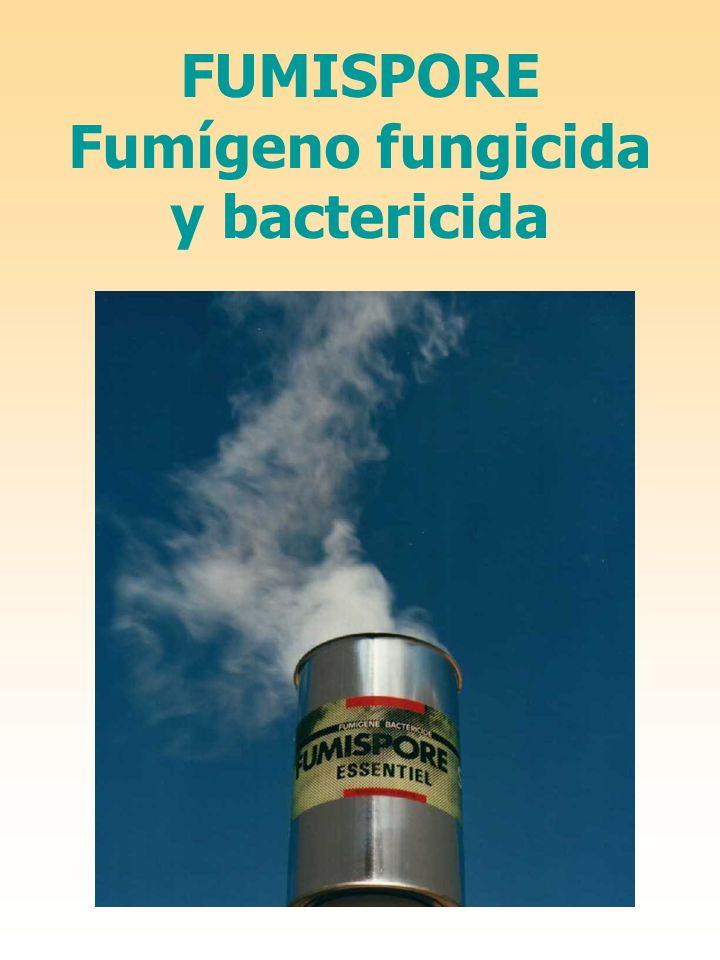 FUMISPORE Fumígeno fungicida y bactericida