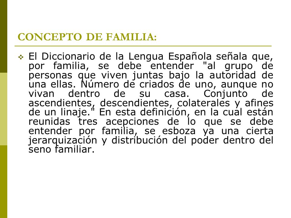 CARACTERISTICAS TIPOLOGICAS DE LA FAMILIA: A.Composición: nuclear, extensa, compuesta.