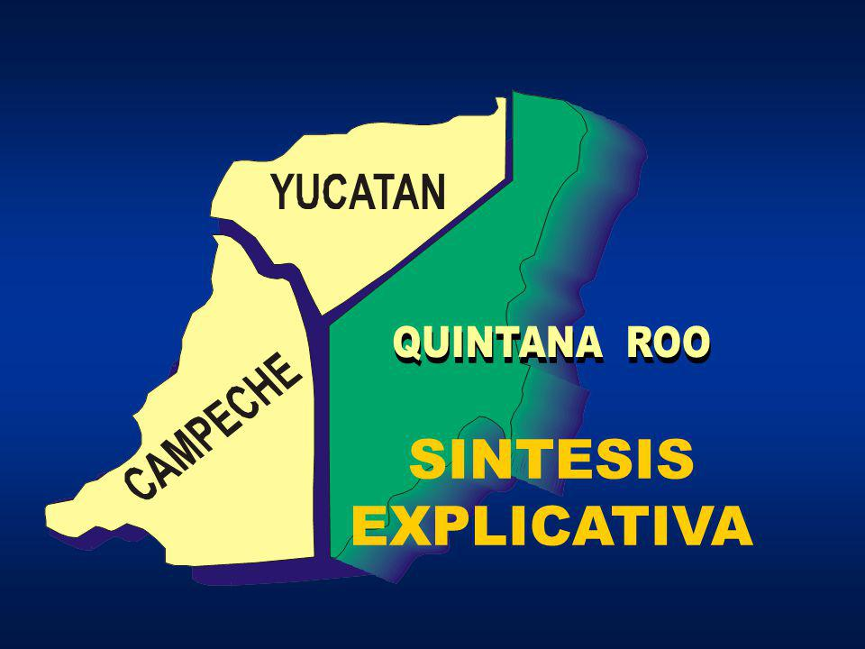 Los Estados de Campeche y Yucatán aprobaron, a través de sus respectivos Congresos locales, como punto de intersección de los linderos entre ambos Estados y el territorio de Quintana Roo,