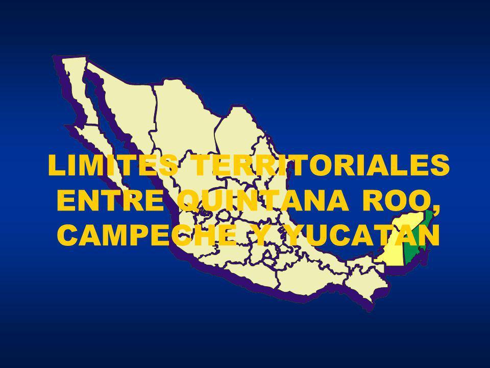 el centro del monumento erigido en la antigua vivienda PUT, por la Comisión Geográfica de la República Mexicana.