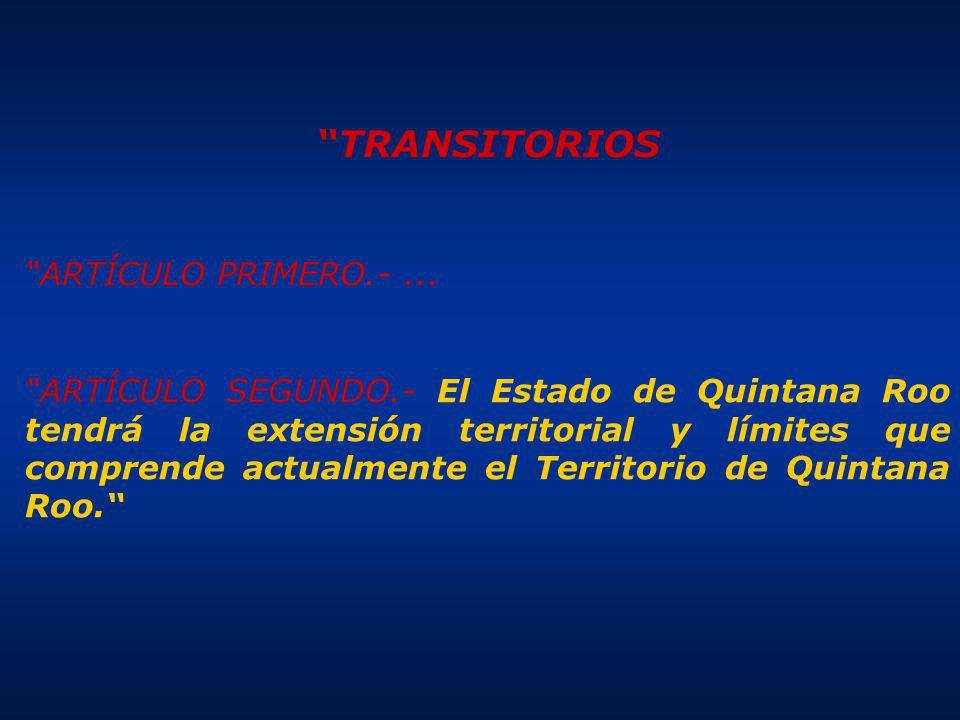 TRANSITORIOS ARTÍCULO PRIMERO.-...