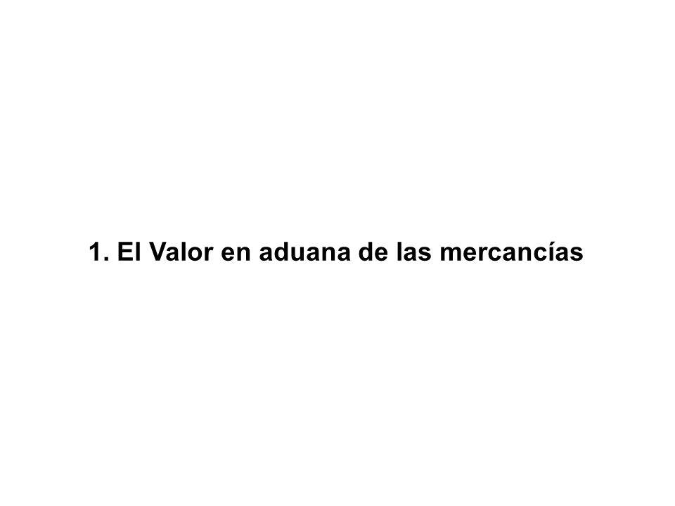 Valor GATT o Valor en Aduana: Conforme al Artículo VII del Acuerdo General sobre Aranceles Aduaneros y Comercio (GATT-OMC) de 1994, la base del impuesto de importación será el Valor Real de las mercancías.