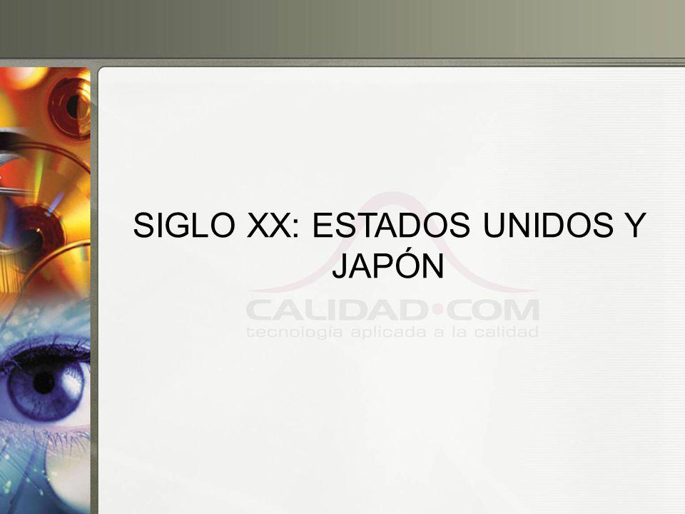 SIGLO XX: ESTADOS UNIDOS Y JAPÓN