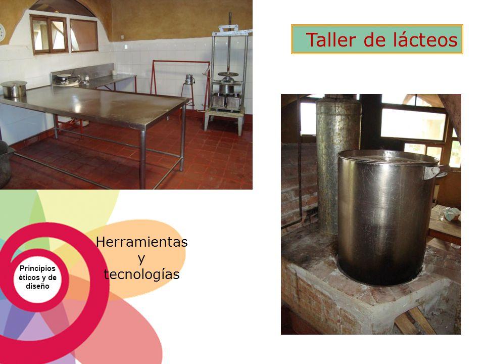 Principios éticos y de diseño Herramientas y tecnologías Taller de lácteos