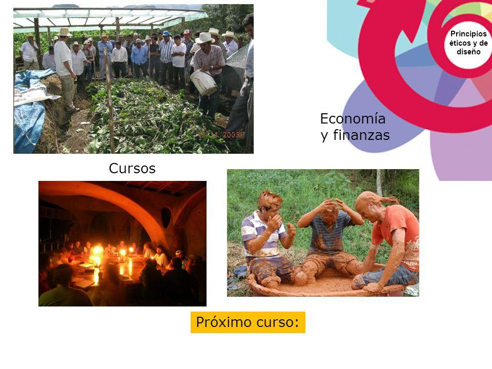Principios éticos y de diseño Economía y finanzas Próximo curso: Cursos