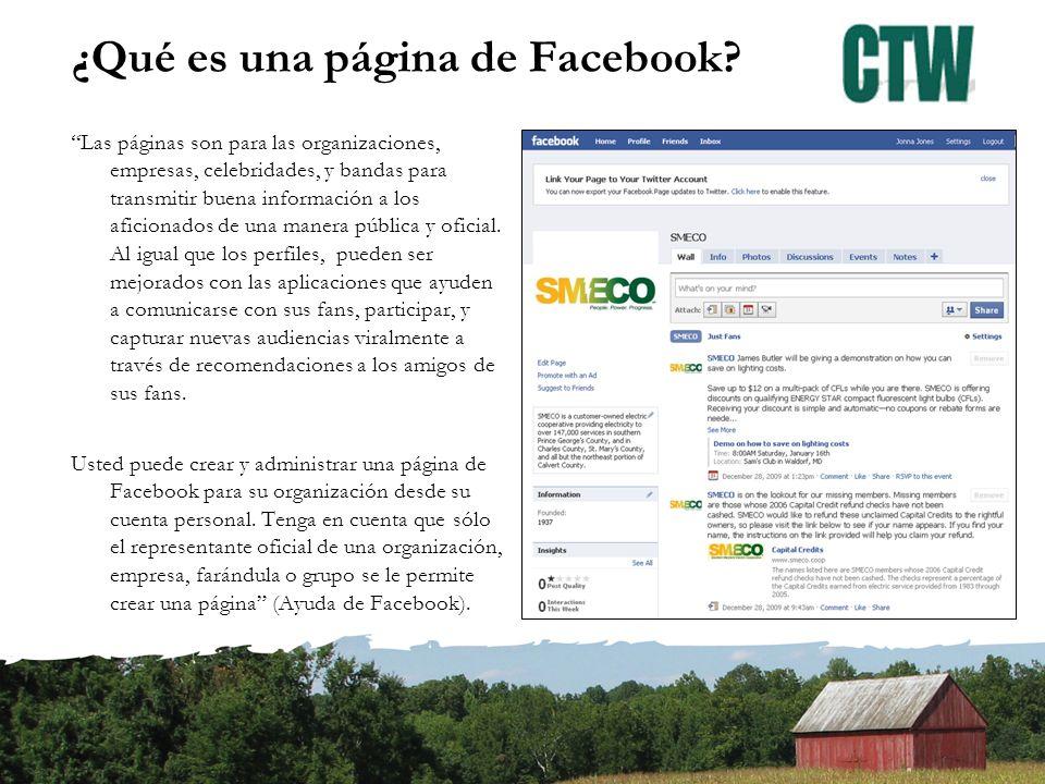 Página personal vs.Página de negocio Personal –Agregar amigos/Que otros te agreguen como amigo.