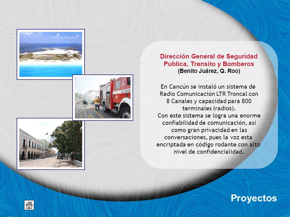 Dirección General de Seguridad Publica, Transito y Bomberos (Benito Juárez, Q.