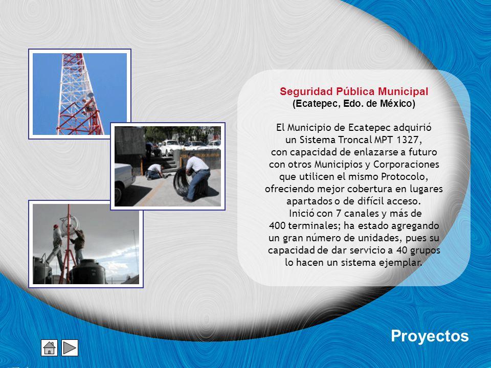 Seguridad Pública Municipal (Ecatepec, Edo.