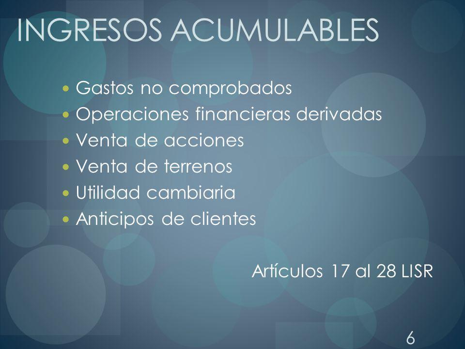 PAGOS PROVISIONALES: CALCULO DE PAGOS PROVISIONALES DE ACUERDO AL DECRETO DEL 28-NOV-2006 Ingresos Nominales del Periodo.