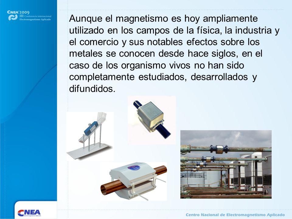 Aunque el magnetismo es hoy ampliamente utilizado en los campos de la física, la industria y el comercio y sus notables efectos sobre los metales se c