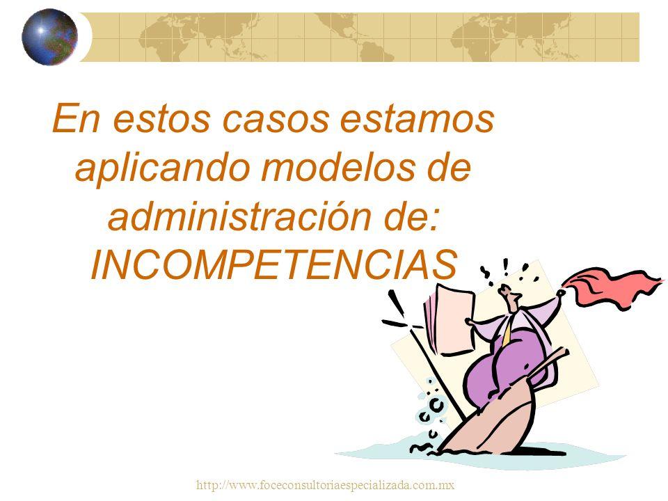 http://www.foceconsultoriaespecializada.com.mx Casos Estilos de Administración Por Costos ¿Cuanto me cuesta?