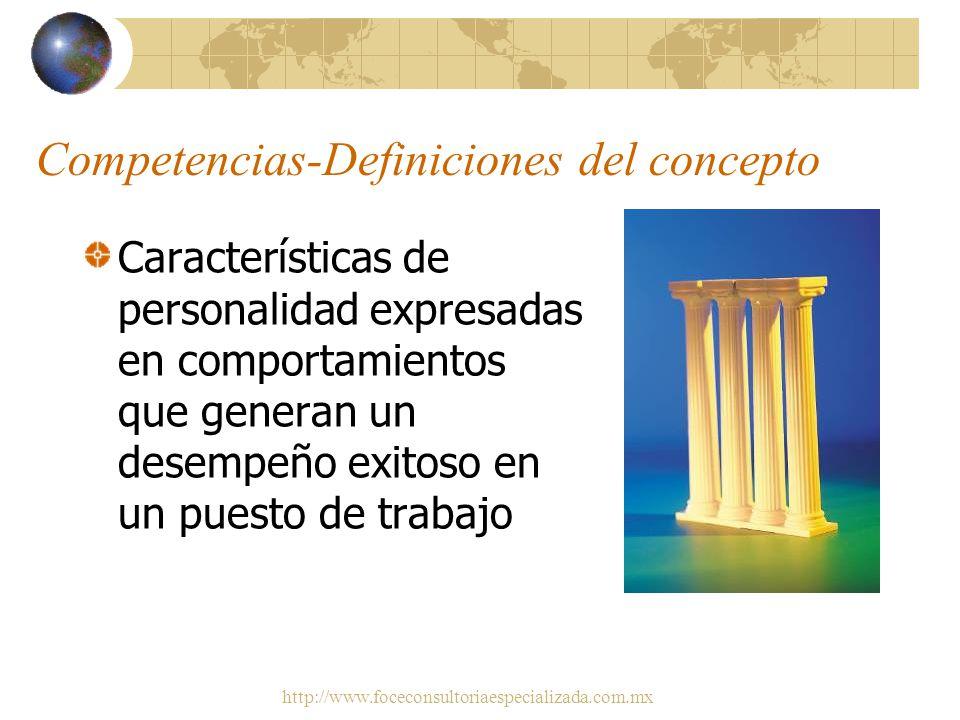 http://www.foceconsultoriaespecializada.com.mx Éxito en el Trabajo Profesional Este talento se puede desglosar en competencias – comportamientos que p