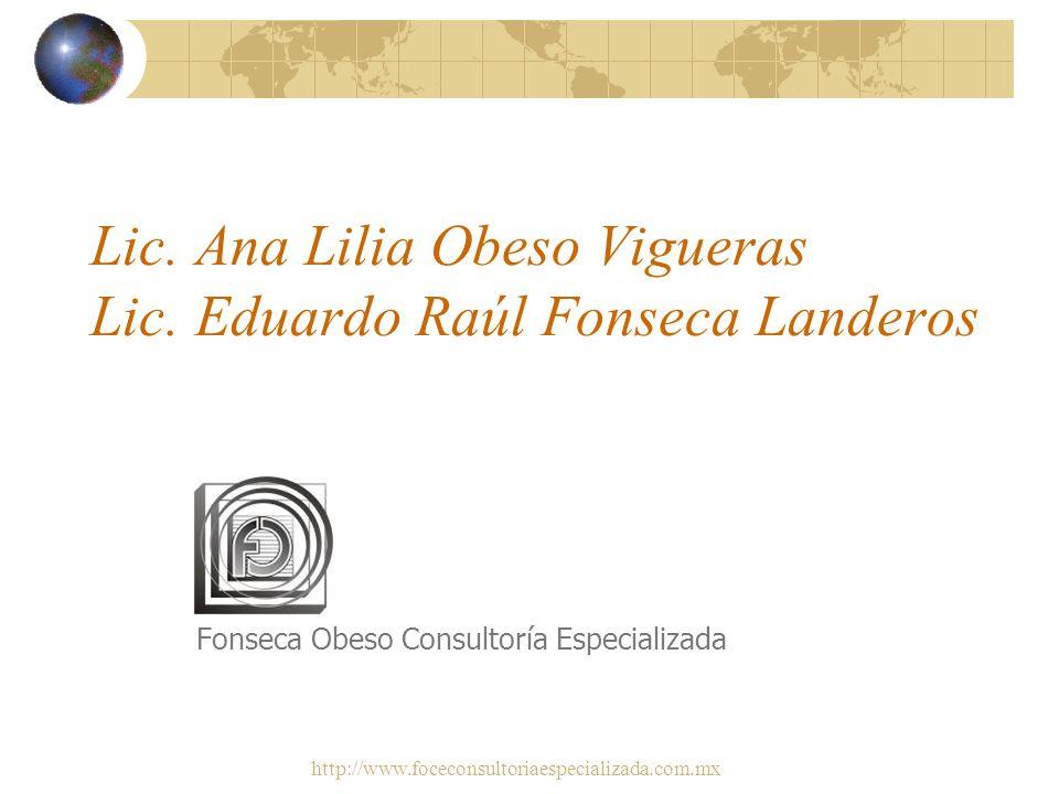 http://www.foceconsultoriaespecializada.com.mx Competencias de los Administradores de Recursos Humanos en el Entorno de la Maquila y las Empresas de S