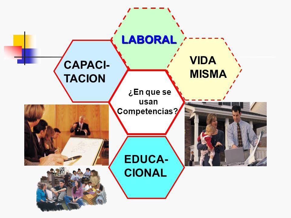 Características competencias IDONEIDAD CONTEXTO DESEMPEÑO RESOLVERPROBLEMAS ACTUACIÓN ACTUACIÓN