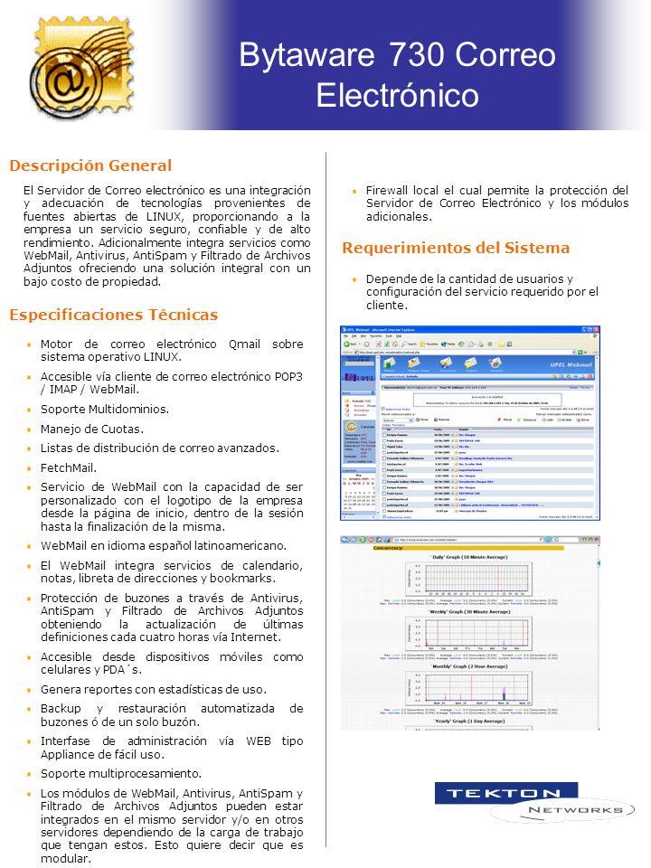 Especificaciones Técnicas El Servidor de Correo electrónico es una integración y adecuación de tecnologías provenientes de fuentes abiertas de LINUX, proporcionando a la empresa un servicio seguro, confiable y de alto rendimiento.