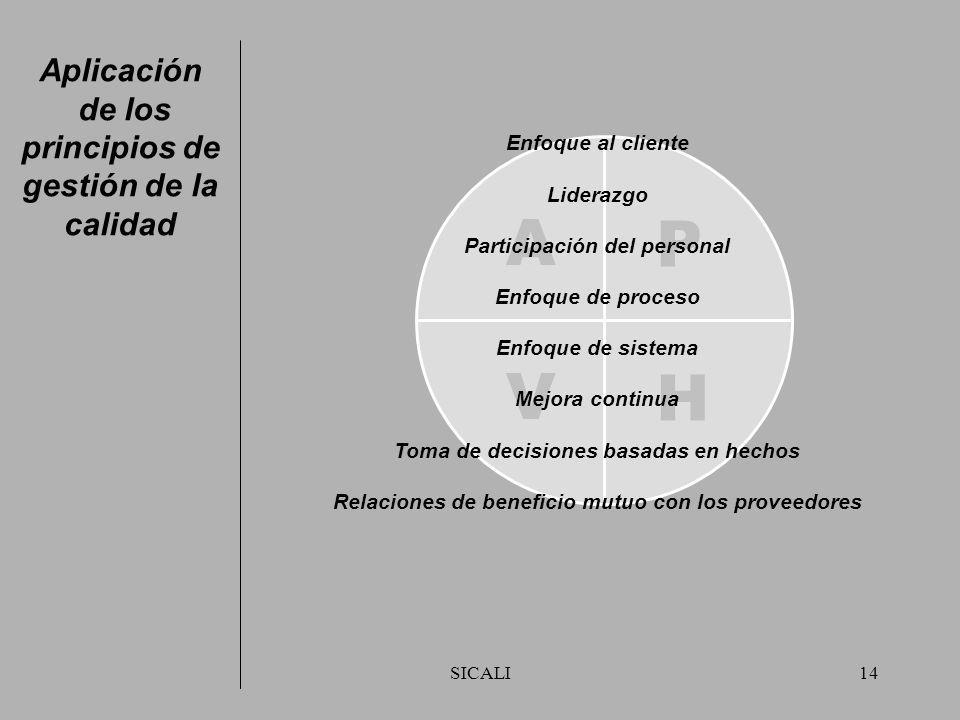 SICALI13 El Anexo A contiene la herramienta de autoevaluación para identificar los niveles de madurez, de importancia de los beneficios financieros y