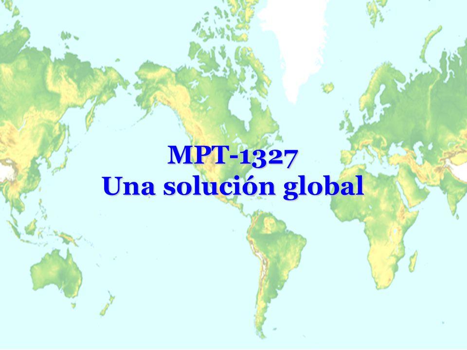 Características de MPT1327 Pérdida de un canal no inutiliza el sistema Pérdida de un canal no inutiliza el sistema Validación de abonado individual Validación de abonado individual Validación de número de identificación único por radio (ESN) Validación de número de identificación único por radio (ESN) Protocolo contempla cobertura multisitio con roaming automático Protocolo contempla cobertura multisitio con roaming automático Radios disponibles para VHF, UHF y 800 Mhz Radios disponibles para VHF, UHF y 800 Mhz