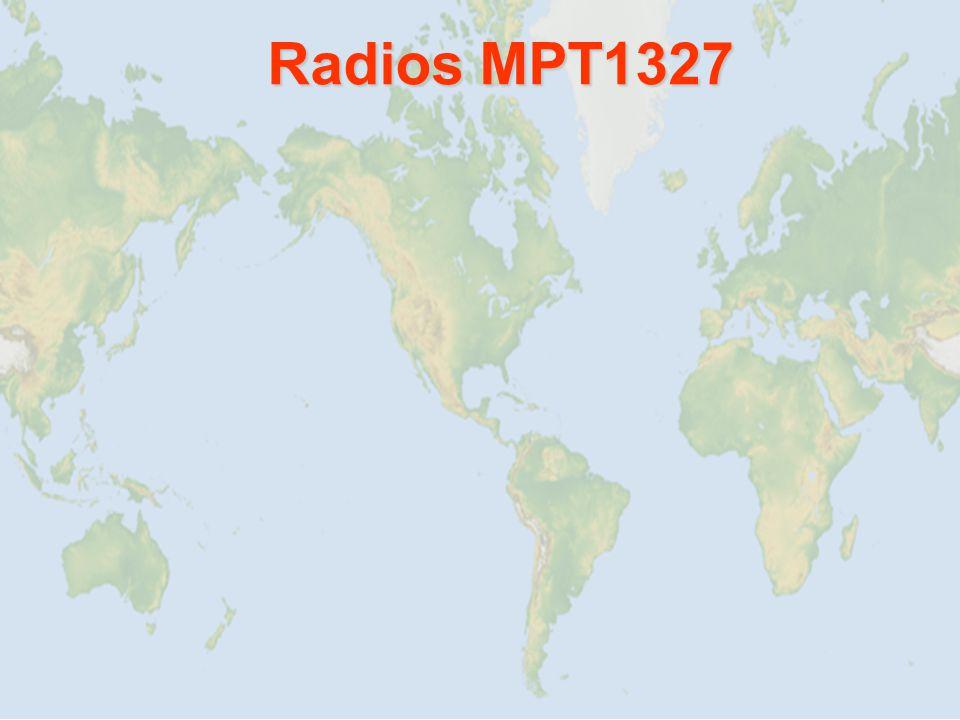 Radios MPT1327 Radios MPT1327