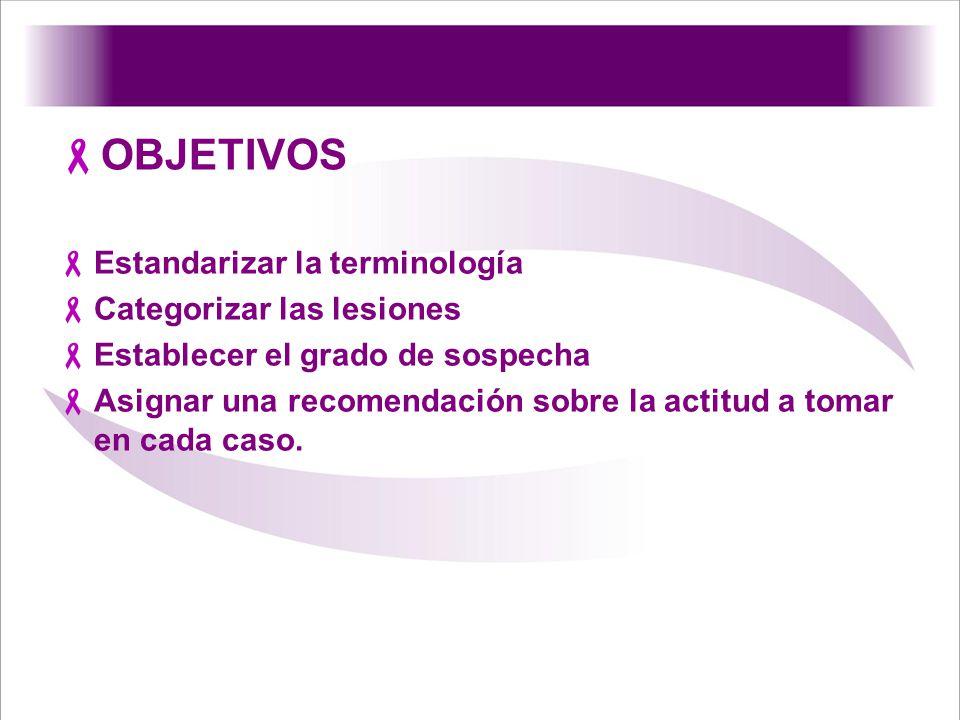 6 – LOCALIZACIÓN DE LA LESIÓN: Indicarse la mama (derecha/izquierda) Localización (por cuadrantes u horario) Profundidad (tercio anterior, medio, subareolar, central, axilar).