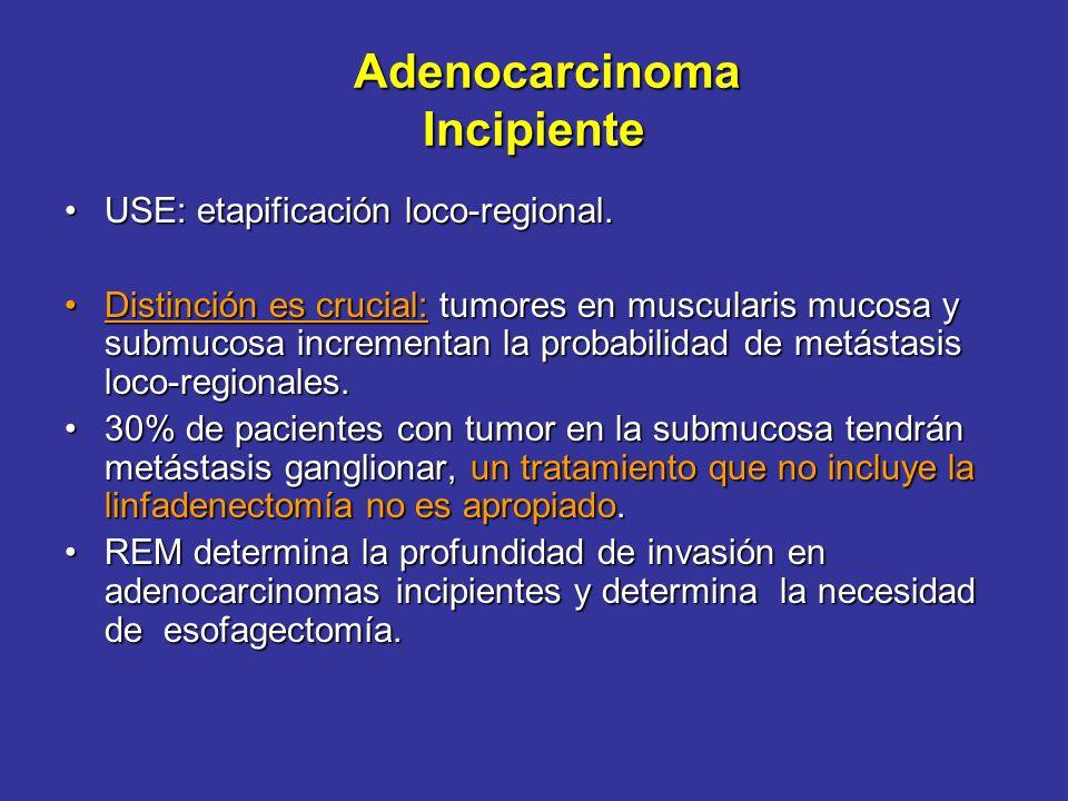 Problema Adenocarcinoma: > tasa de crecimiento.Adenocarcinoma: > tasa de crecimiento. Ha reemplazado al escamoso ( frecuencia).Ha reemplazado al escam