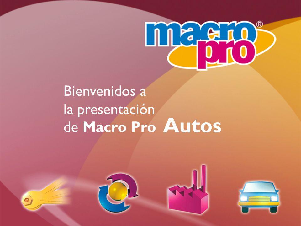 Bienvenidos a la presentación de Macro Pro Autos