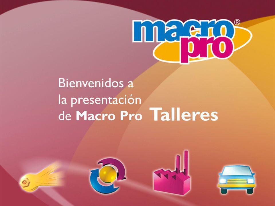 Bienvenidos a la presentación de Macro Pro Talleres