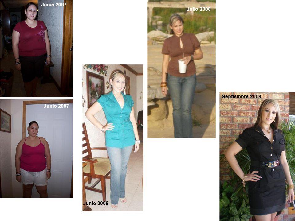 Junio 2007 Junio 2008 Julio 2008 Septiembre 2008