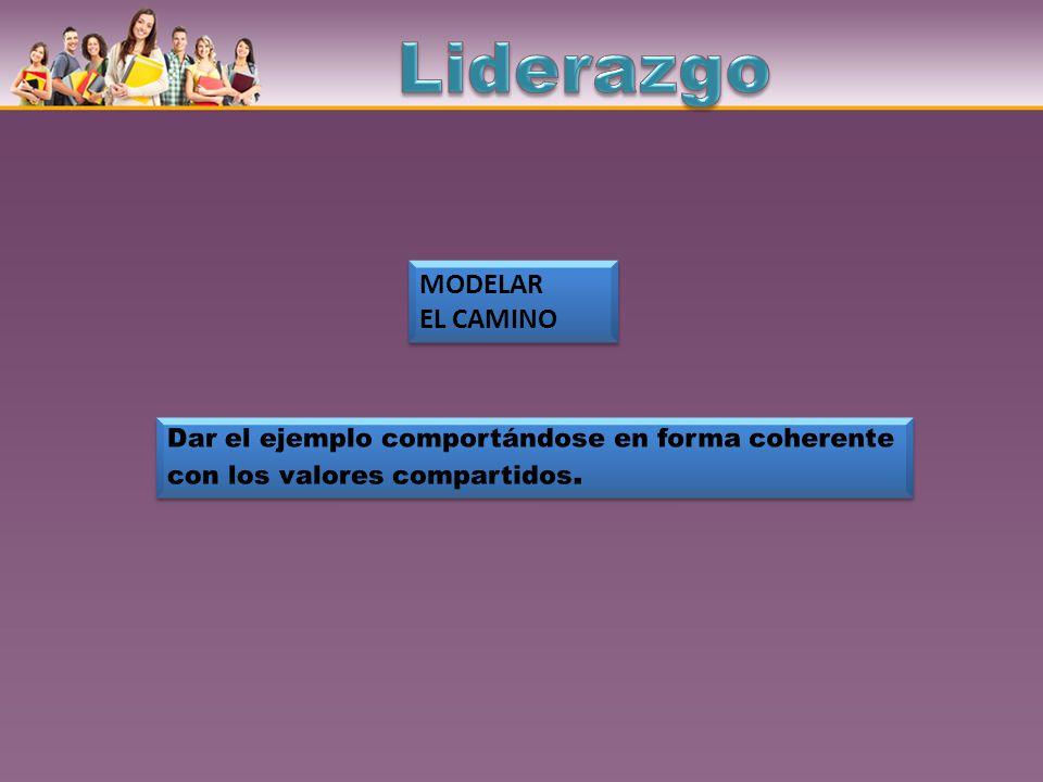 MODELAR EL CAMINO MODELAR EL CAMINO