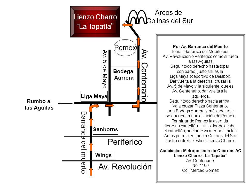 Sanborns Av.Revolución Periferico Av. Centenario Av.