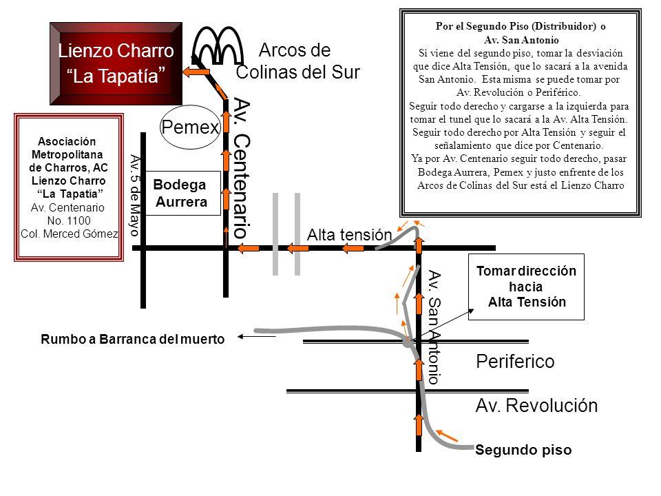Hospital General Lienzo Charro La Tapatía Arcos de Colinas del Sur Av.