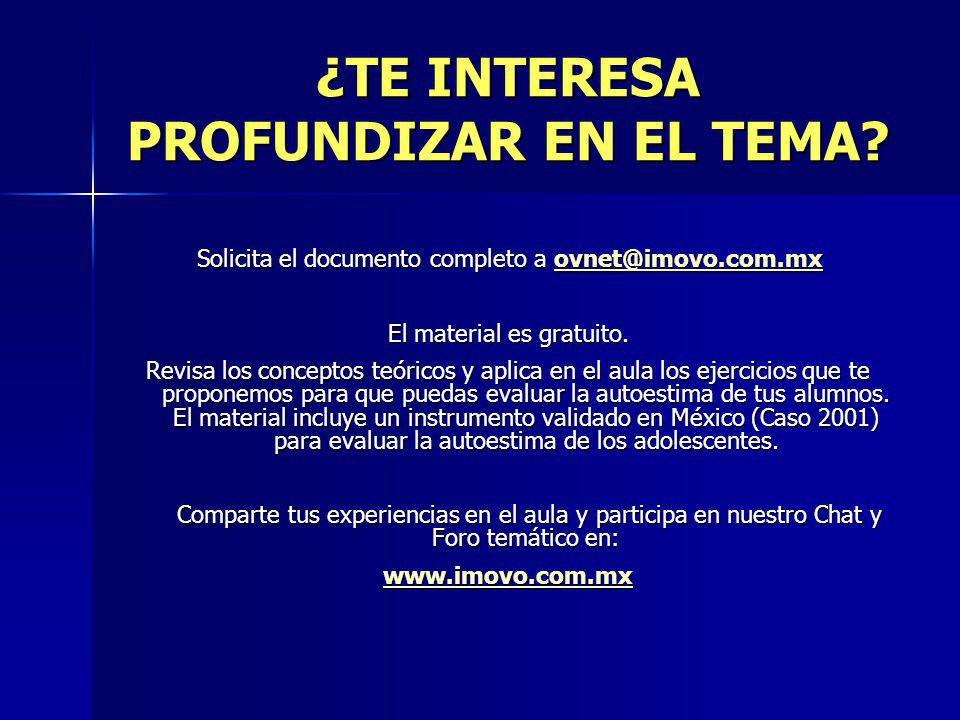 ¿TE INTERESA PROFUNDIZAR EN EL TEMA? Solicita el documento completo a ovnet@imovo.com.mx Solicita el documento completo a ovnet@imovo.com.mxovnet@imov