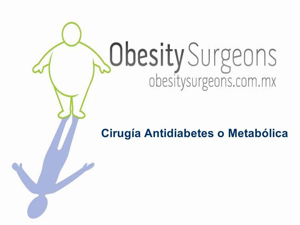 Cirugía Antidiabetes o Metabólica