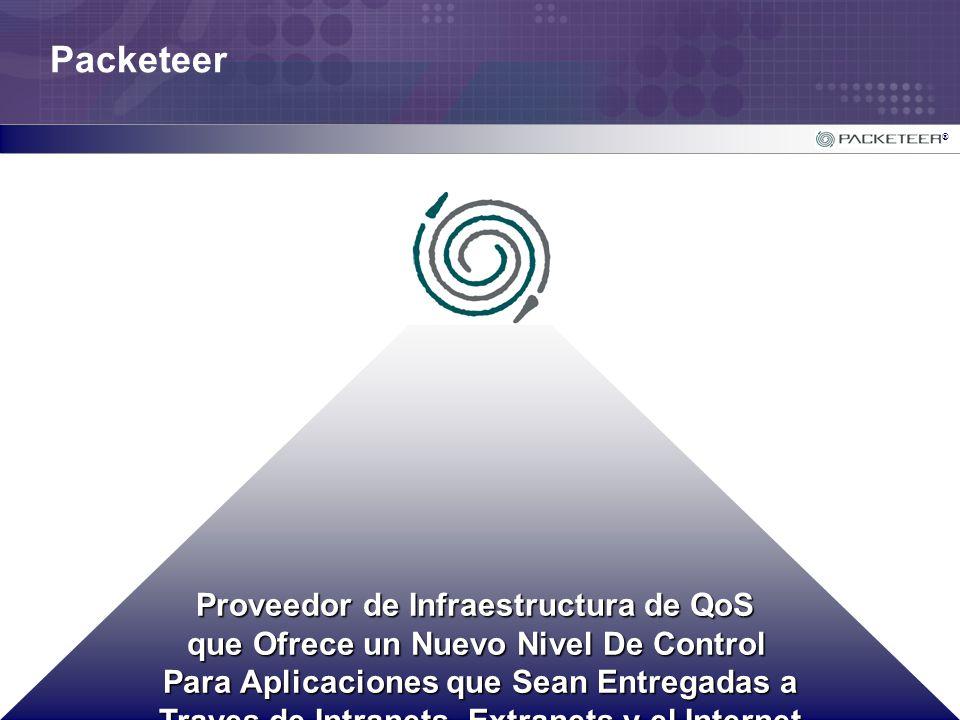 ® Proveedor de Infraestructura de QoS que Ofrece un Nuevo Nivel De Control Para Aplicaciones que Sean Entregadas a Traves de Intranets, Extranets y el