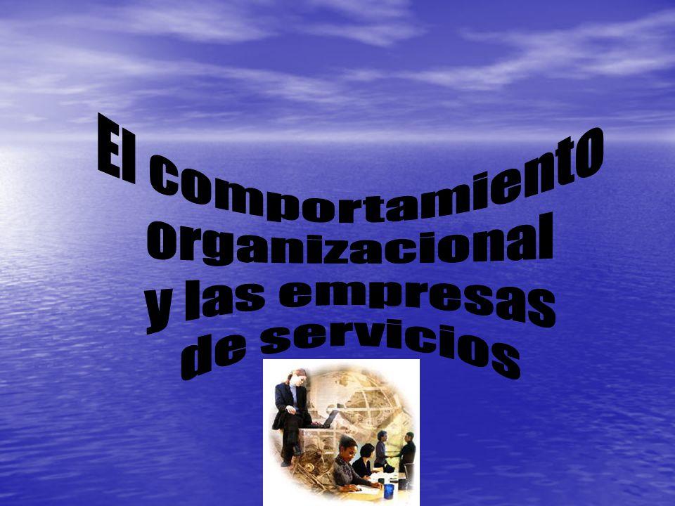 El desempeño humano La productividad y la motivación del empleado de una empresa de servicios es la base de la correcta atención a los clientes.