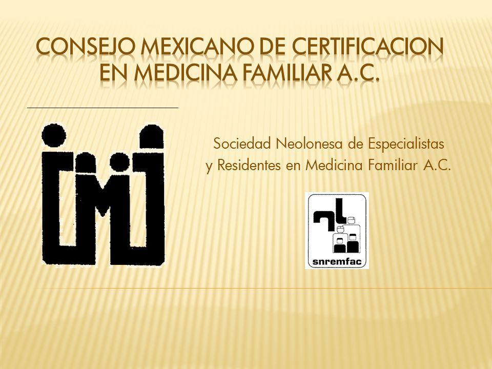 Sociedad Neolonesa de Especialistas y Residentes en Medicina Familiar A.C.