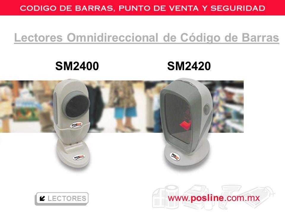 www.posline.com.mx Lectores Omnidireccional de Código de Barras SM2400 SM2420 LECTORES