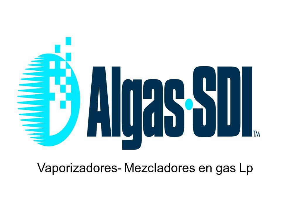 Vaporizadores- Mezcladores en gas Lp