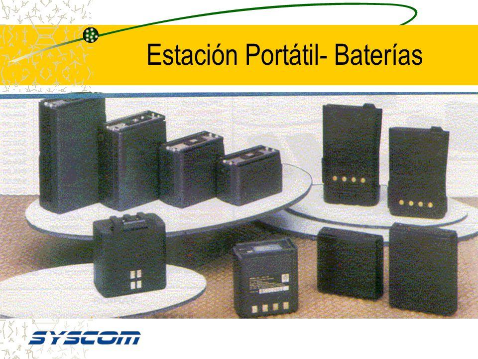Estación Portátil - Antenas Antenas Ineficientes